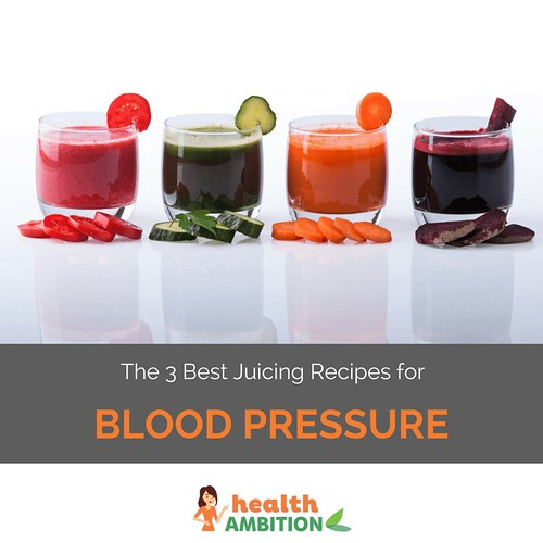 The 3 Best Juicing Recipes for Blood Pressure