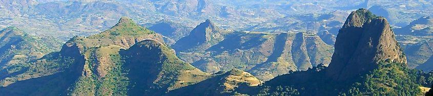 Trekkingreise Semien-Gebirge in Äthiopien. Foto: Gaby Hupfauer.