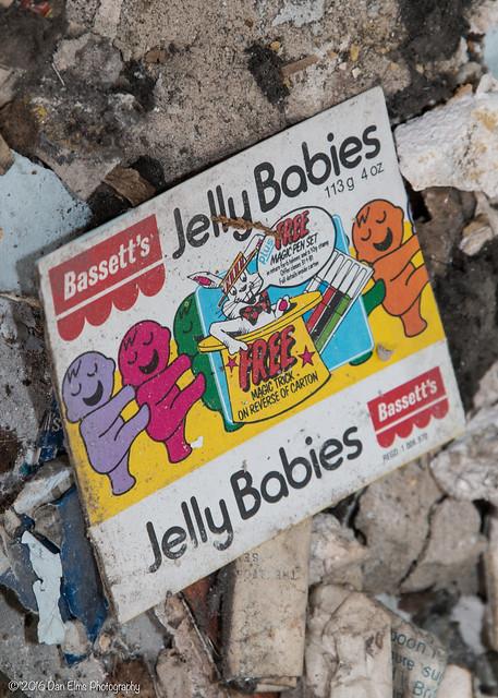 Bassett's Jelly Babies!! Severalls Hospital