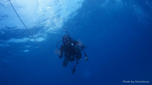 久しぶりの海でテンションアゲアゲのMさんw