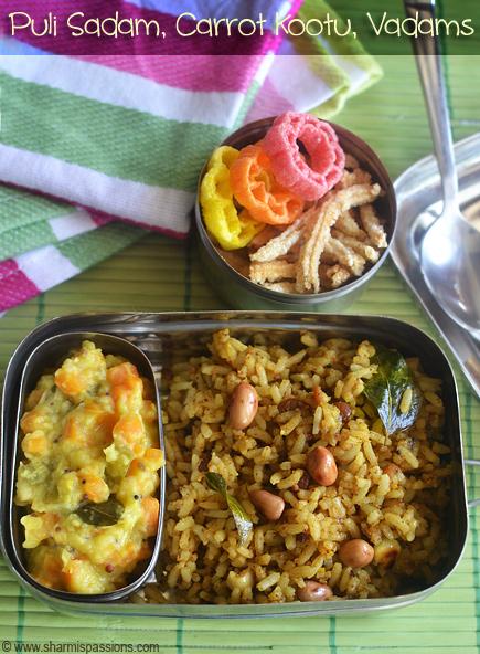 Puliyodharai Carrot Kootu