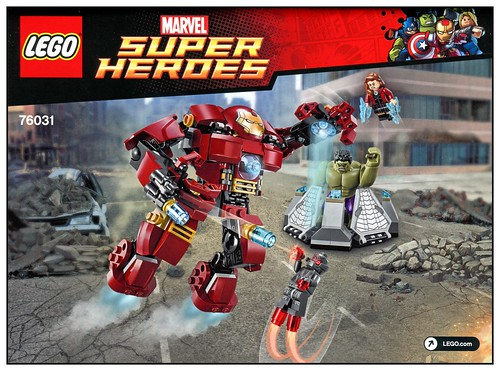 LEGO 76031 The Hulk Buster Smash ins01