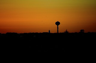 Looking at a point lookout sunset from jones beach WE2