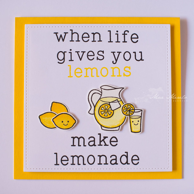 When life gives you lemons Card + 1