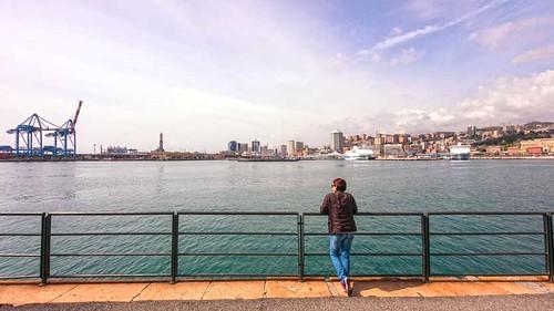 Looking from Porto antico - Genova
