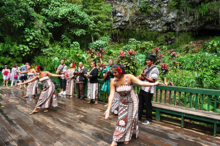 Hula Dance at Fern Grotto