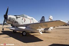 135018 AE-810 - 10095 - US Navy - Douglas EA-1F Skyraider AD-5Q - Pima Air and Space Museum, Tucson, Arizona - 141226 - Steven Gray - IMG_8445