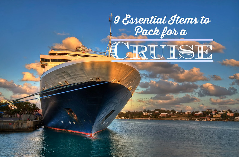 9 essential items to pack for your next cruise1