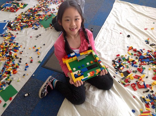 Plymouth Library LEGO Lab April 3, 2015