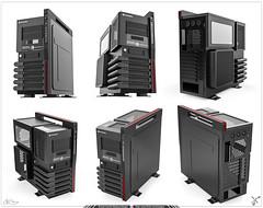 CPU Thermaltake Level 10 GT LCS - Render Vistas