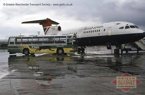 Crosville ELL-class Leyland Leopard, Manchester Airport