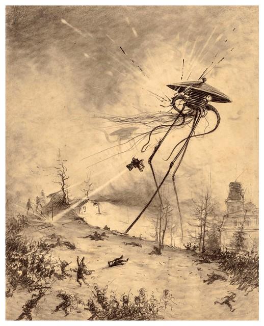 013-La Guerre des Mondes illustreè par Alvim Corrêa-1906- Heritage Auctions