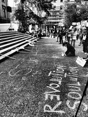 Protest against Bill C-51 - April 18, 2015 - Vancouver BC, Canada