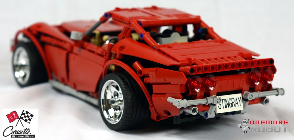 Corvette4 Lego Technic C3 Corvette Sting Ray Built By O Flickr