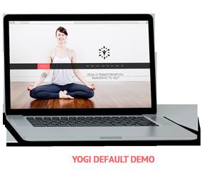 Yogi Health Yoga WordPress theme