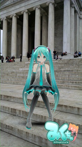 Hatsune Miku Goes to Washington