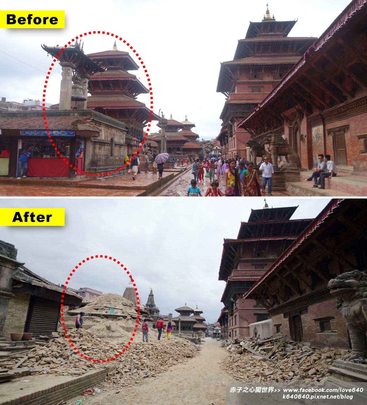 Nepal Kasthamandap earthquake-Patan-2