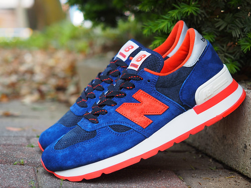 New Balance for J.Crew / M990 [Indigo Flame]