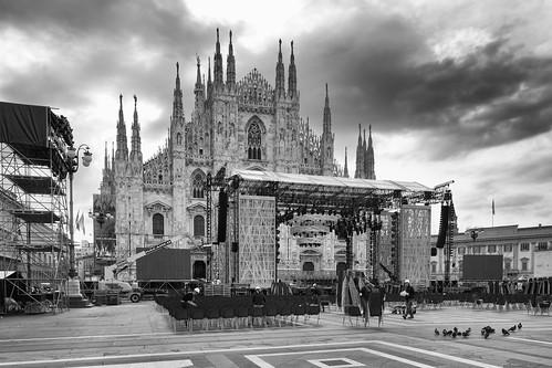 Il Duomo ed il suo palco - Milano