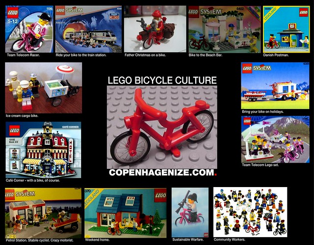 Bicycles in LEGO sets