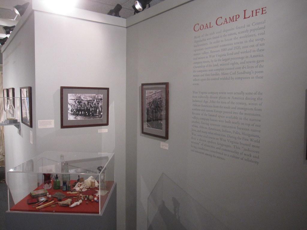 Coal Camp Life exhibit   WV Mine Wars Museum   Flickr