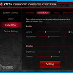 MSI GS60 2QE Ghost Dragon Gaming Center, Instant Play, display & audio