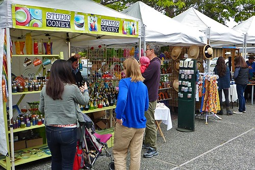 Saturday Market on Saltspring Island, Gulf Islands, British Columbia, Canada