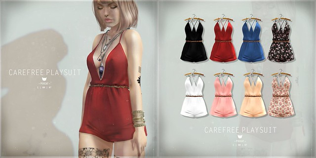 Carefree.Playsuit - Collabor88