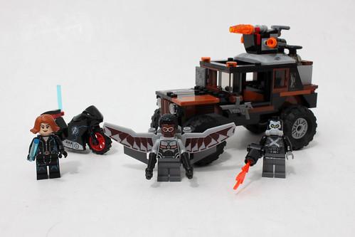 LEGO Marvel Super Heroes Crossbones' Hazard Heist (76050)