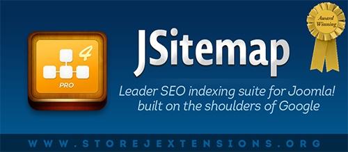 JSitemap v3.9 - Joomla 3.x Sitemap StoreJeXtensions