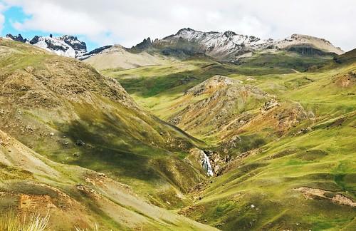 travel mountain peru nature landscape huancavelica rumichaca pacoalfonsocom