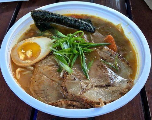 curry ramen bowl Torraku Ramen food truck