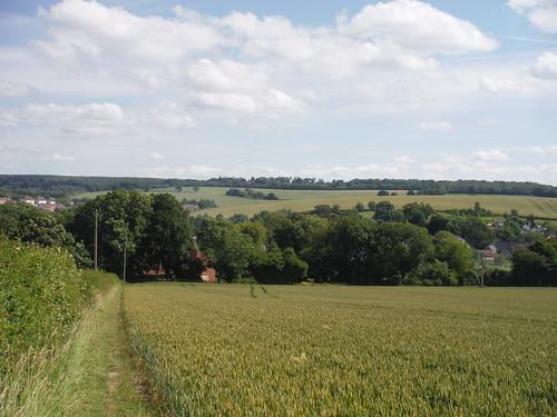 King's Somborne, down in the valley