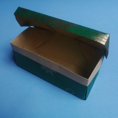 Anna Kastlunger's Box with Lid