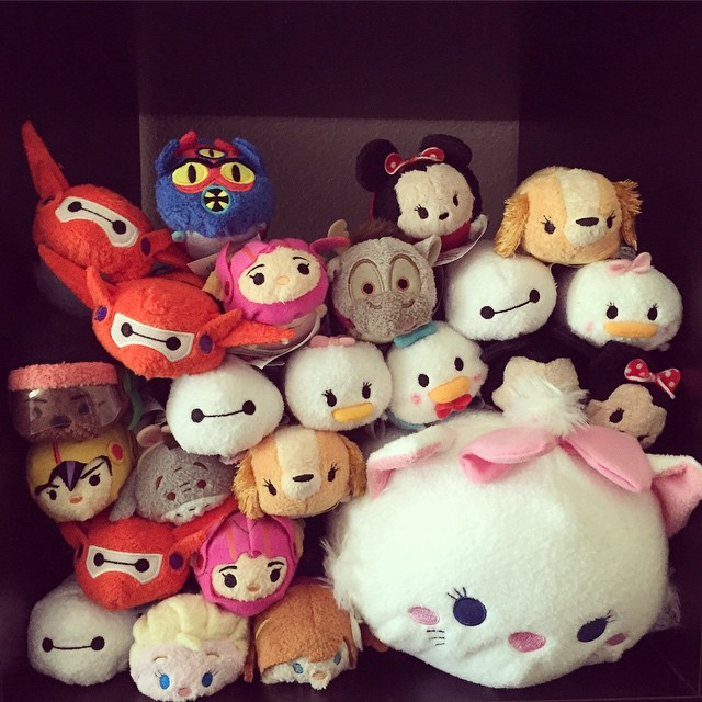 """""""Wanna put our tsums together to see what they'll look like when we have a lot?"""" -@LizLocksley #somanybaymaxes #tsumtsum"""
