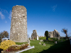 Oughterard Round Tower & Church