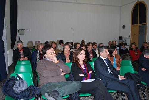 In prima fila, presenti all'incontro anche l'assessore Altieri, l'assessore Ancona e il consigliere Giampaolo