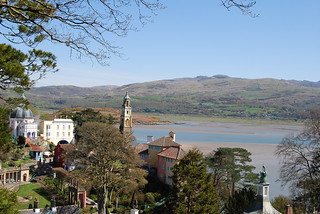 Portmeirion and the Estuary