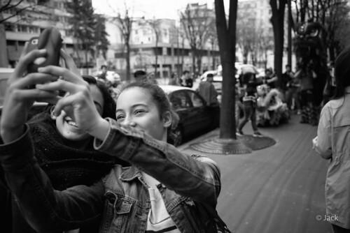 street selfie