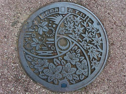 Onomi Kochi, manhole cover (高知県大野見村のマンホール)