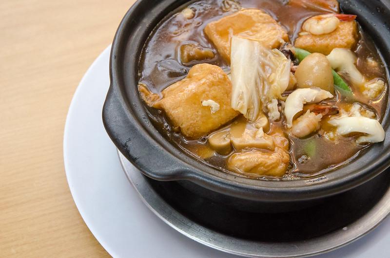 Lala Chong Seafood Restaurant's seafood tofu