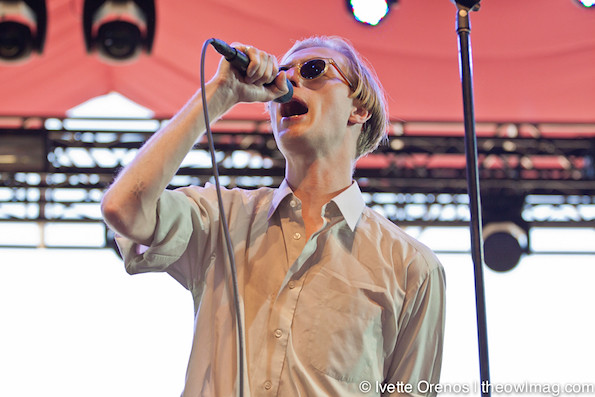 Eagulls @ Coachella 2015 Weekend 2 - Friday