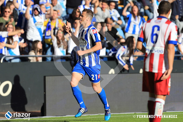 Liga BBVA. R.C.Deportivo 1 - Atlético de Madrid 2