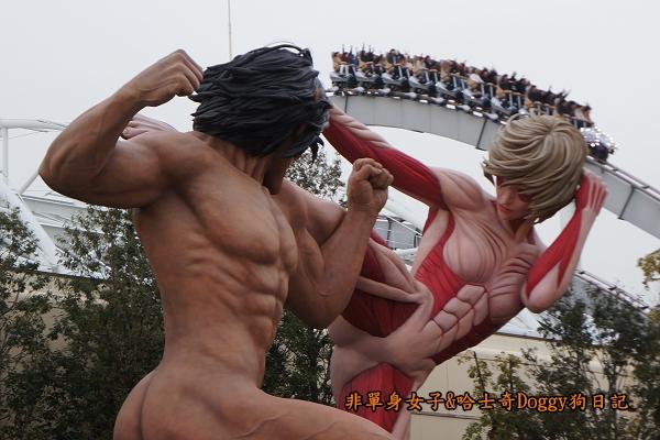 日本大阪環球影城哈利波特進擊的巨人40