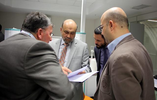 Bağımlılığın Genetiğini araştıran ABD'li Kurshy Üsküdar Üniversitesi'ni ziyaret etti.