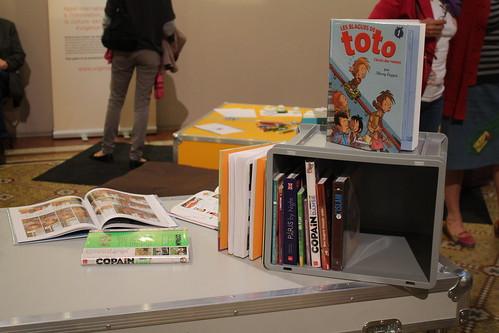 Bibliothèques Sans Frontières - Ideas Box à la Mairie du 10e