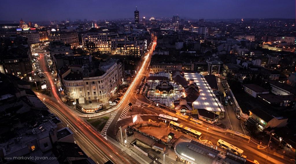 Belgrade - Night Panorama Timelapse - CC