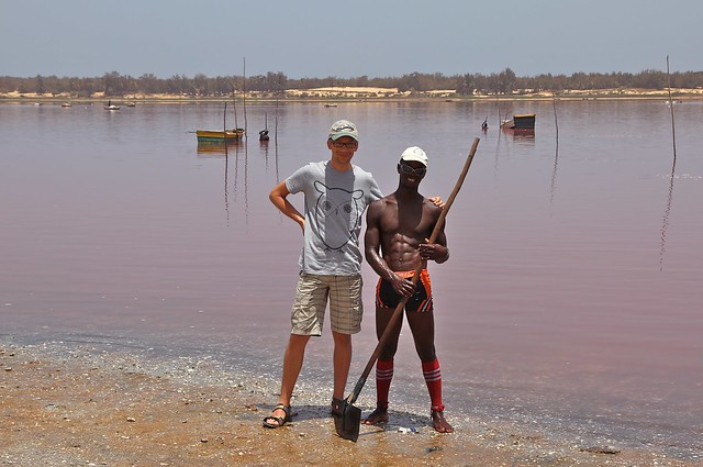 Lake Retba or Lac Rose