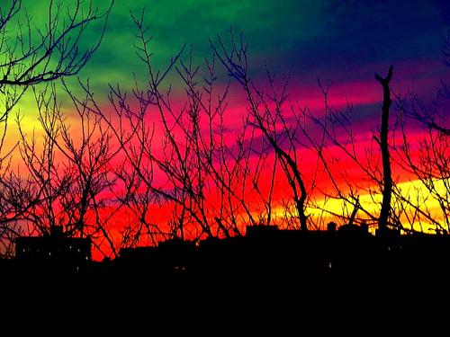 sunset newyork brooklyn image dmitriyfomenko spring62015