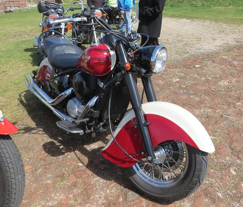 TUI8737 Indian Chief Motorcycle